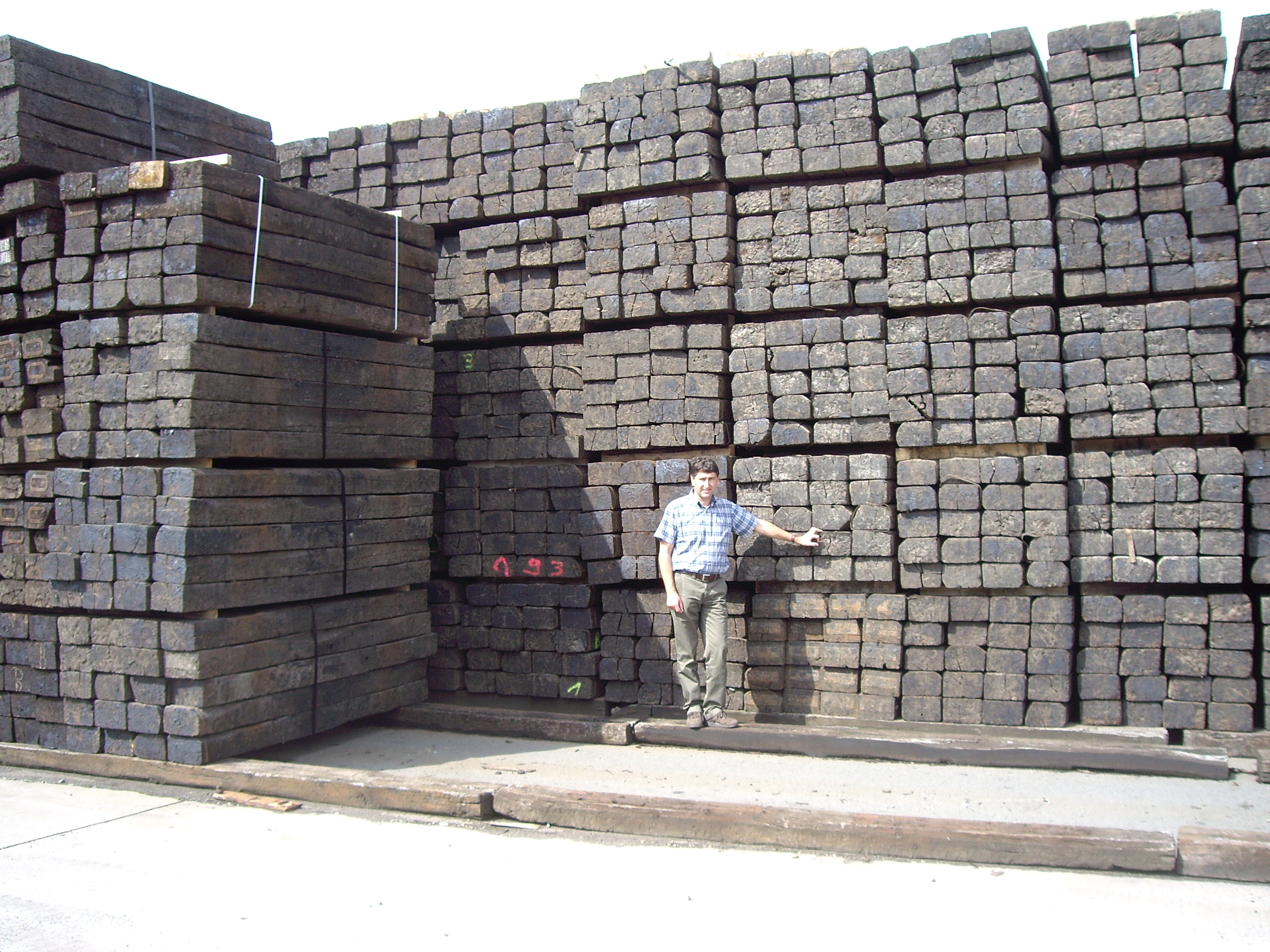 Railway Sleepers | J R Breach